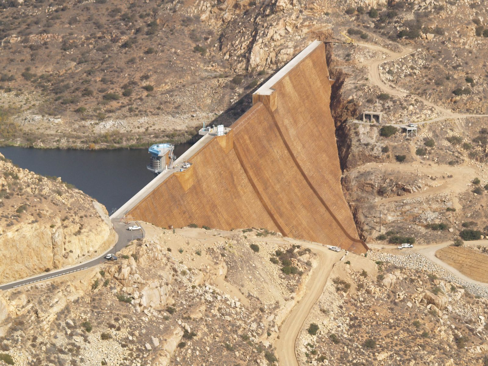 Current San Vicente Dam