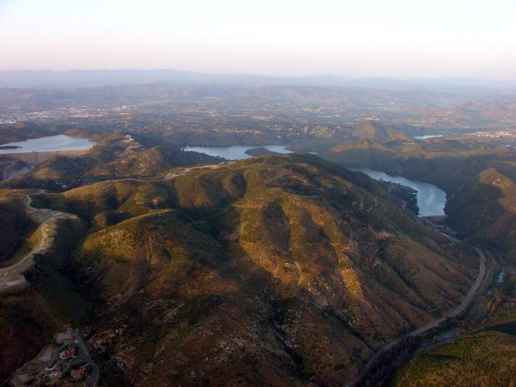 Lake Hodges and Olivenhain Reservoir