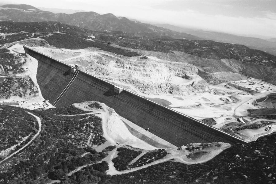 olivenhaind dam aerial