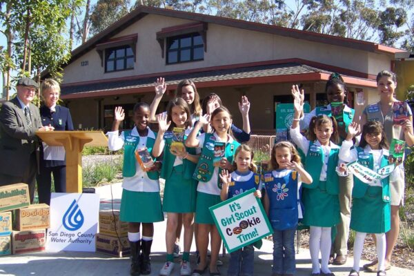 Girl scouts Patch Program