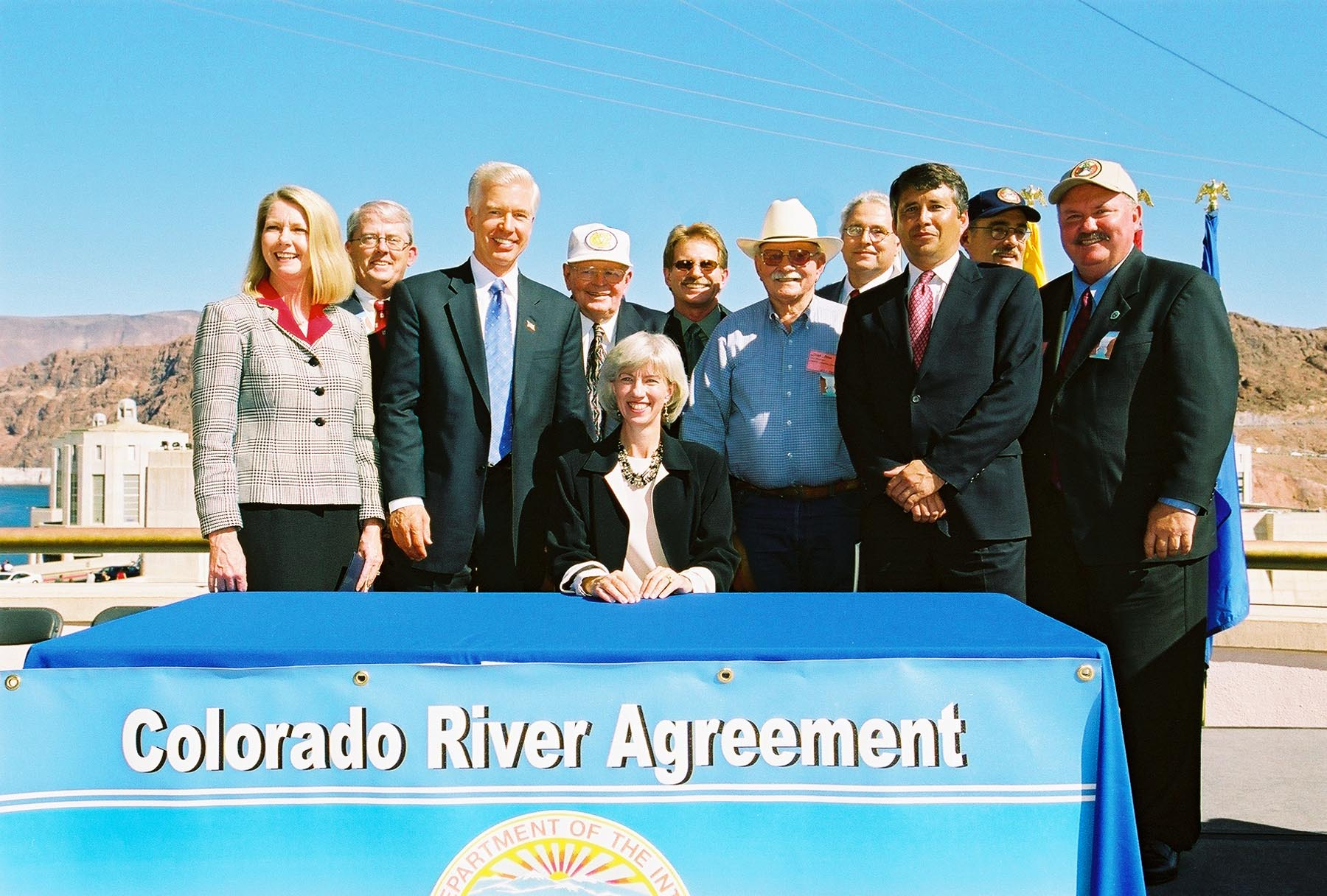 officials signing the colorado ageemets